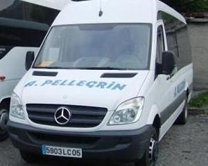 Autocar Mercedes 515 avec 22 places